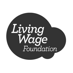 The Living Wage Foundation logo – IE is a Living Wage accredited organisation