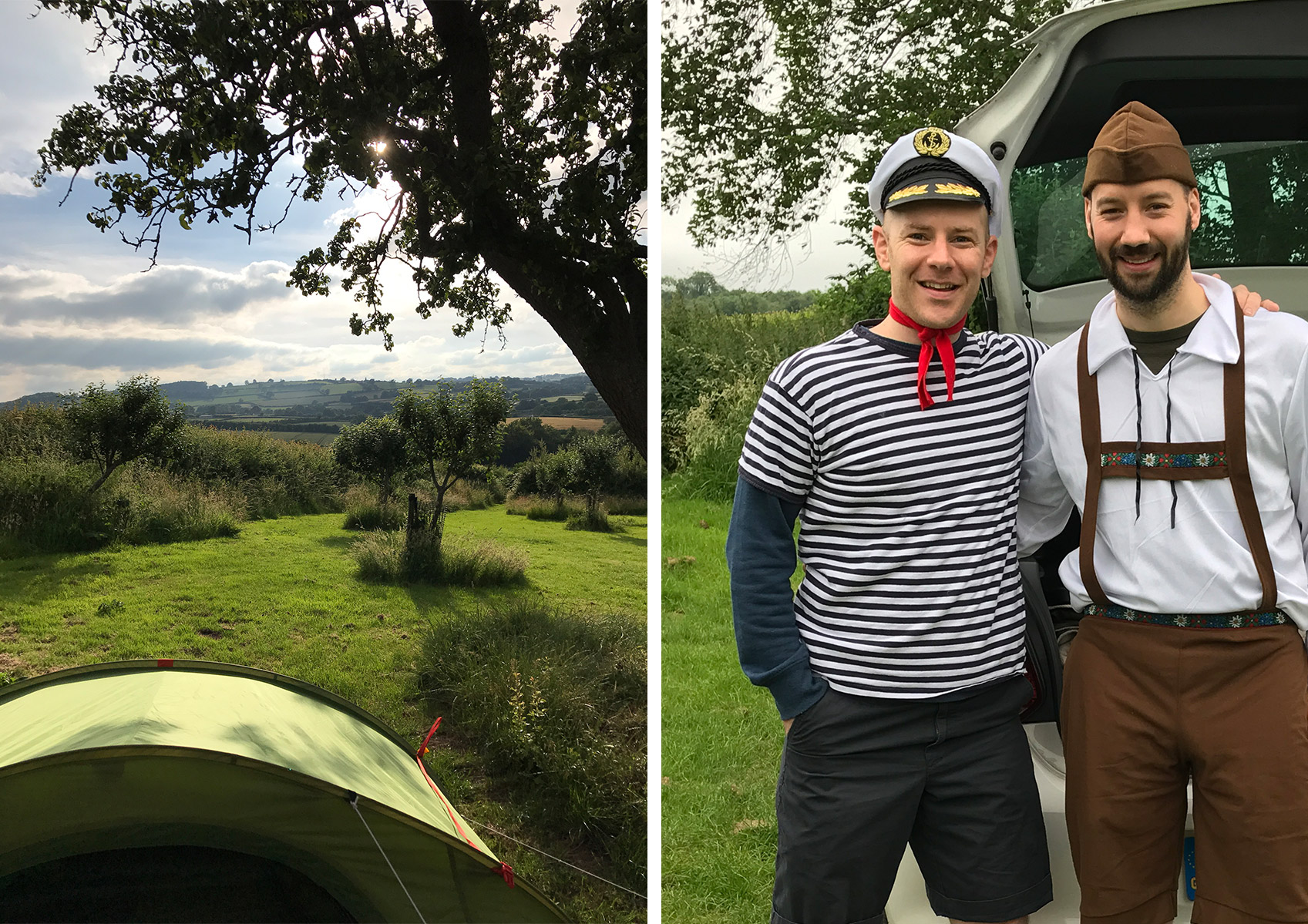Canoeing and Camping in the Wye Valley – an IE team away day
