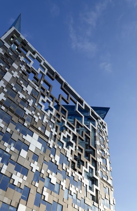The Cube, Birmingham, where SRA are based