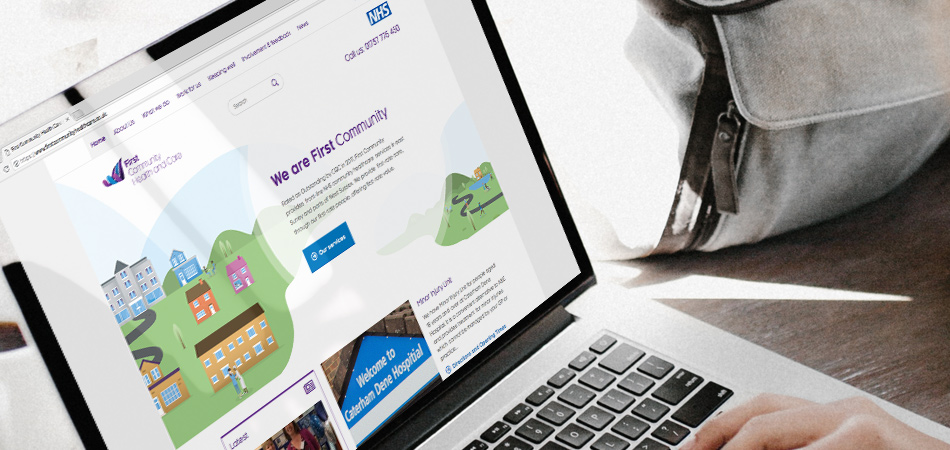 First Community Health and Care website