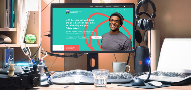 New website for University College Dublin Careers Network