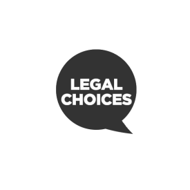 Legal Choices logo in grey