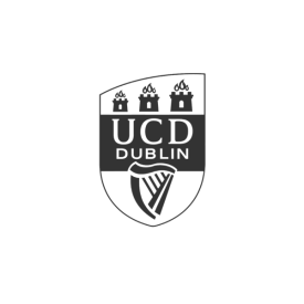 University College Dublin crest (grey)