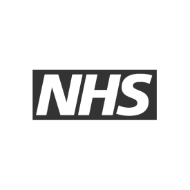 NHS logo (grey)