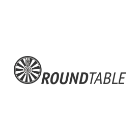 RoundTable logo in grey